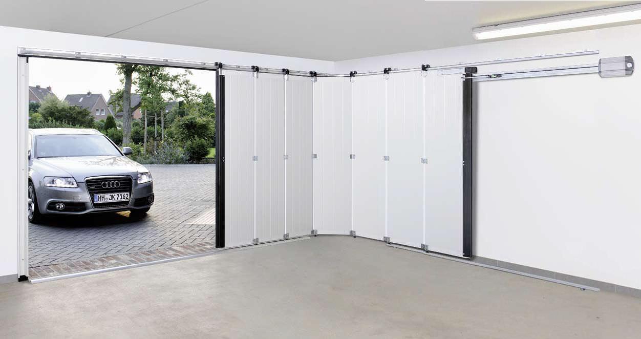 Puertas de garaje correderas seccionales