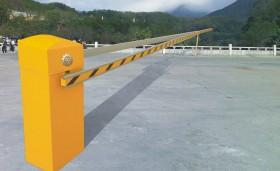 Instalación en barreras de parking en Toledo