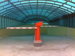 Instalación en barreras de parking en Madrid