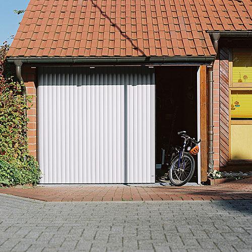 Puertas de garaje correderas con sistemas de automatizaci n puertas de garaje en madrid - Puertas correderas de garaje ...