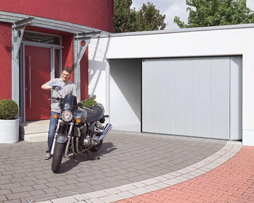 Modelos de apertura para puertas de garaje puertas de for Modelos de puertas de garaje