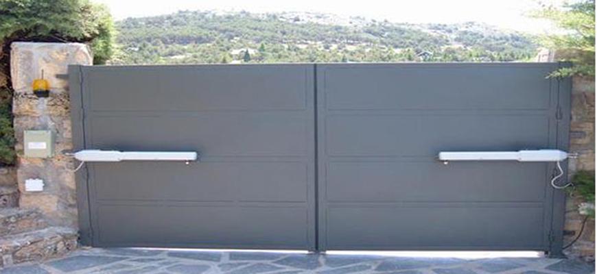 Automatismo puerta garaje basculante affordable kit for Puertas abatibles garaje