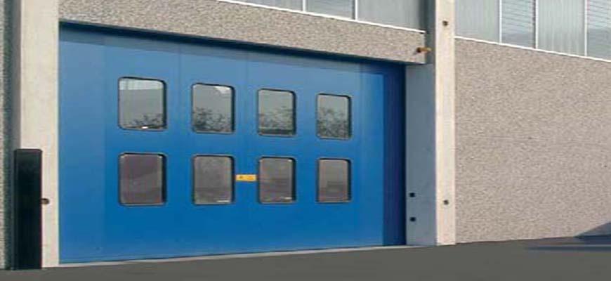 Puertas plegables industriales