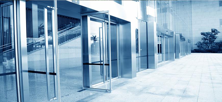Mantenimiento de puertas de cristal automáticas en Madrid