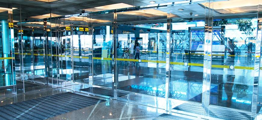 Puertas automáticas de cristal económicas