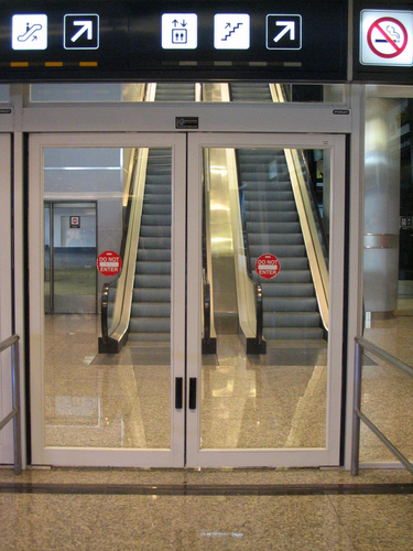 Puertas automatizadas deslizantes