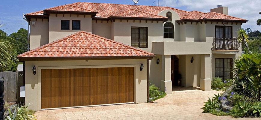 Puertas de garaje de madera